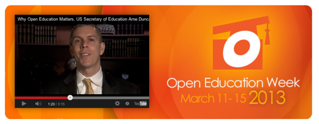 Open Up on Open Education Week