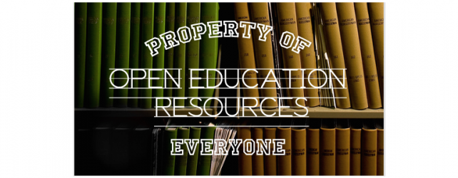 Department of Education proposes OER initiatives to directly impact teachers