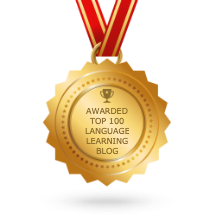 Awarded Top 100 Language Learning Blog