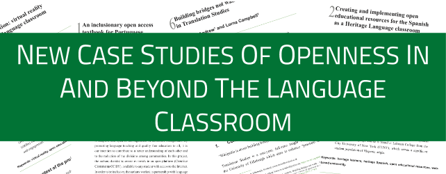 Inspiring case studies of open practices to engage teachers and students
