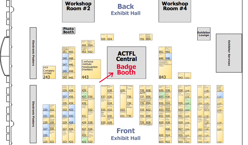 ACTFL-FloorPlan-booth-location