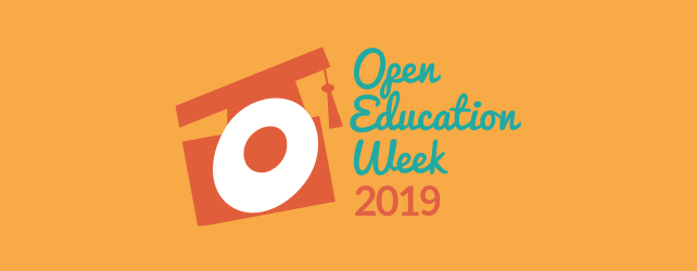 Welcome to Open Education Week 2019!